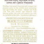 Black Star Farms Montana Rusa Riesling