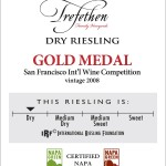 Trefethen Dry Riesling - shelf talker