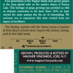Wagner Vineyards Vintners Riesling