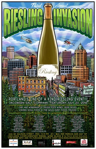 riesling invasion event in portland oregon july 23 2016